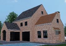 Open bebouwing cottage stijl