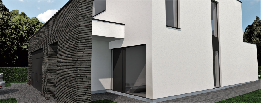 moderne villa vrijstaand